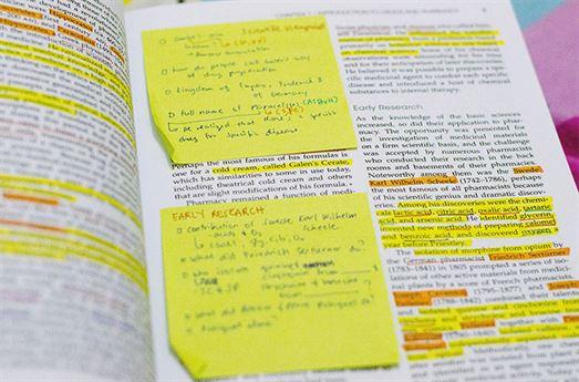 tecnicas-de-estudio subrayado