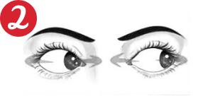 Movimientos oculares - De izquierda a derecha