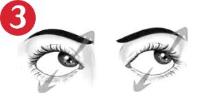 Movimientos oculares - En diagonal