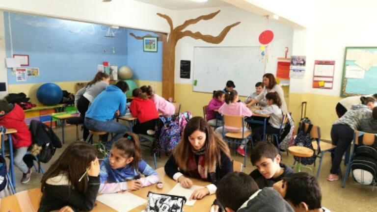 aula alumnos visual thinking