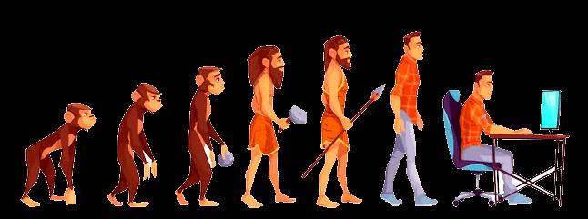 Proceso de evolución humana