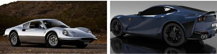 Ferraris en la memoria